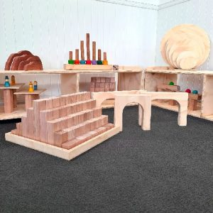 Wooden Blocks and Archways Set