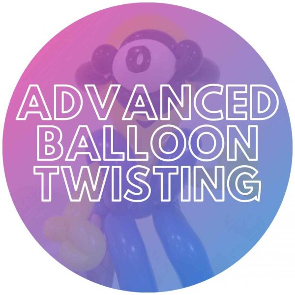 Minion balloon twisting design at a party