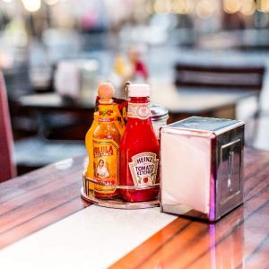 Table with Condiments
