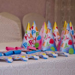 Party Favours on Table