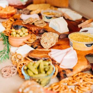 Grazing Platter for Healthy Party Food