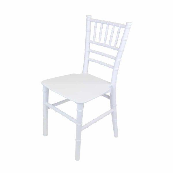 Kids White Tiffany Chair