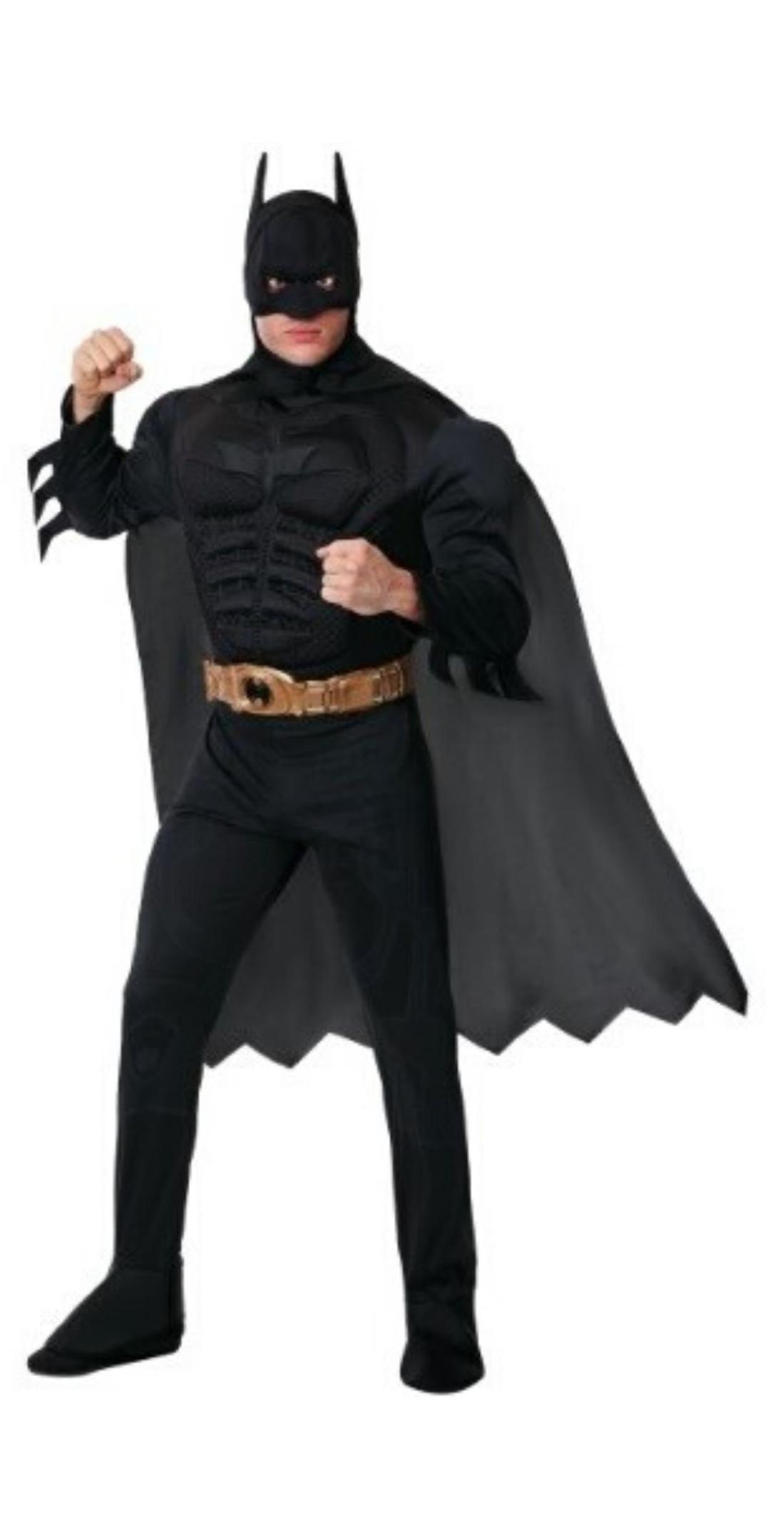 Man in Batman Party Costume