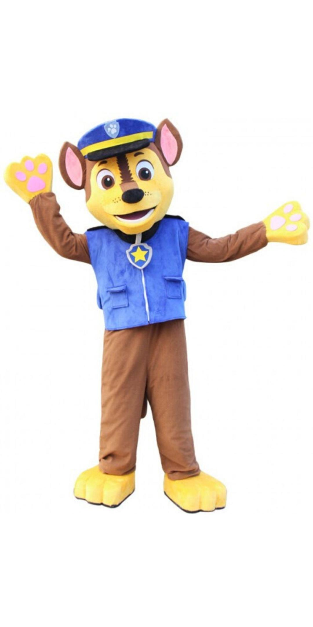 Chase Mascot Party Costume