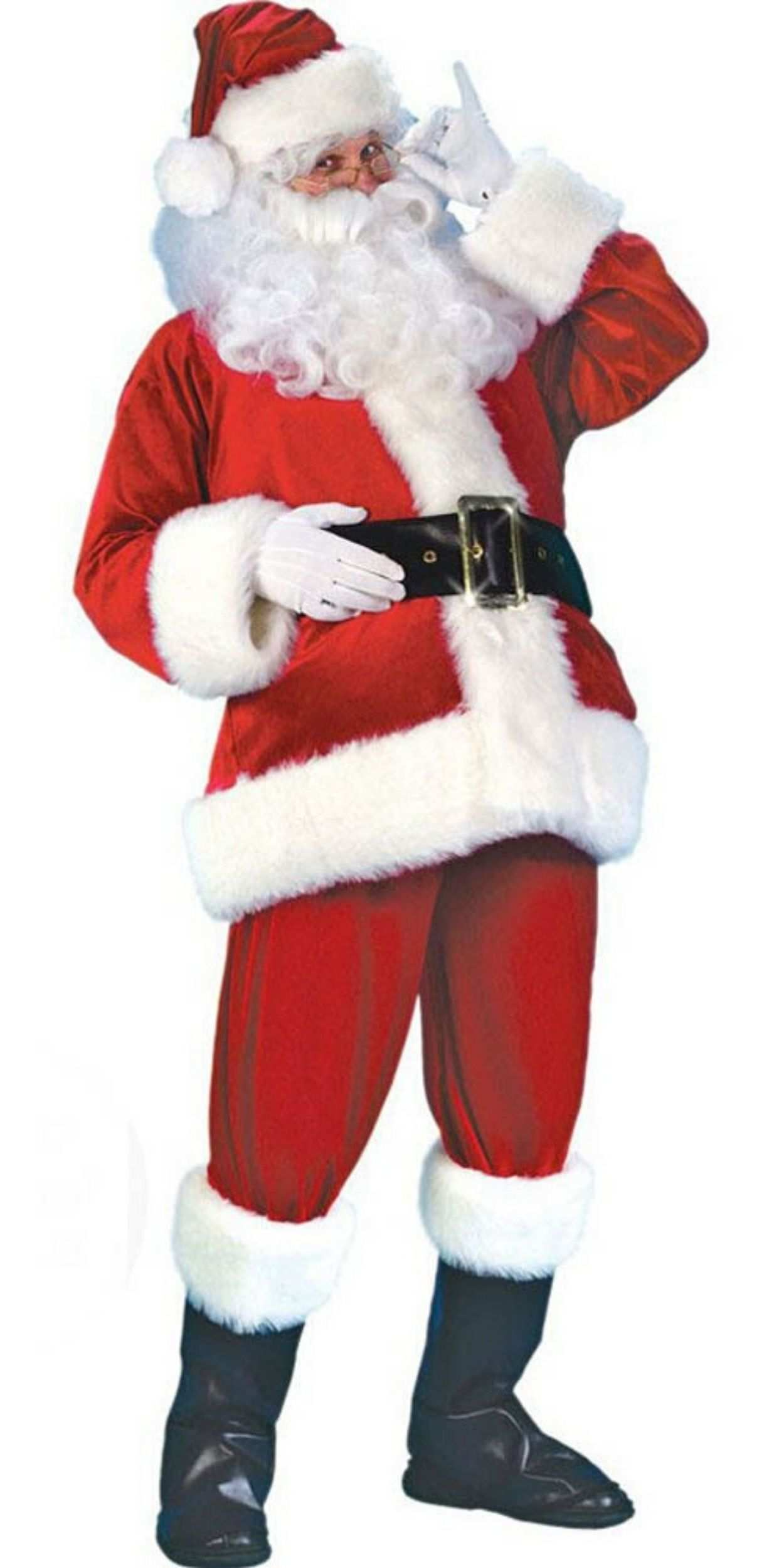 Man in Santa Party Costume