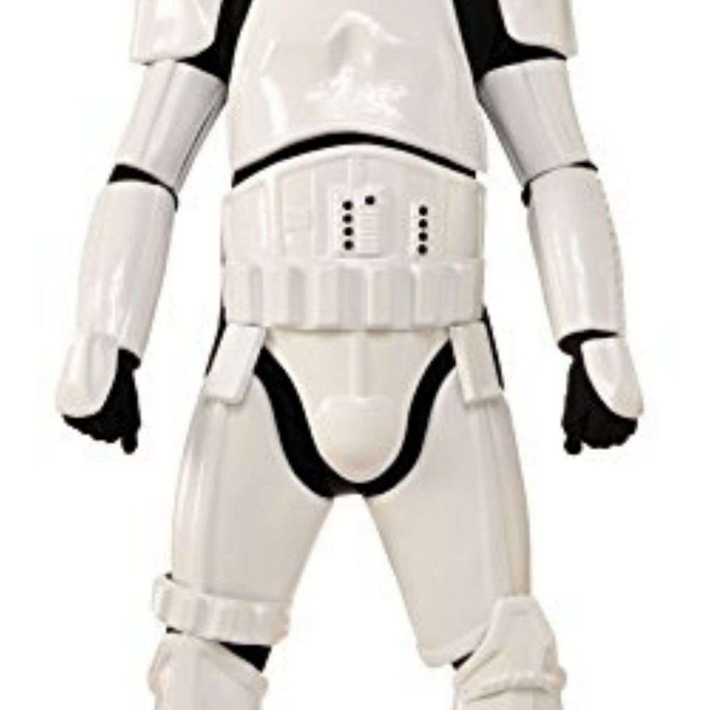 Man in Stormtrooper Party Costume