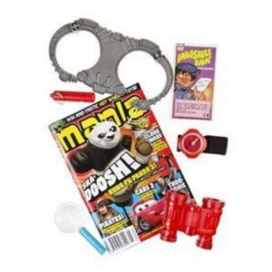 Sleuth Party Bag Contents
