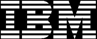 IBM White Logo