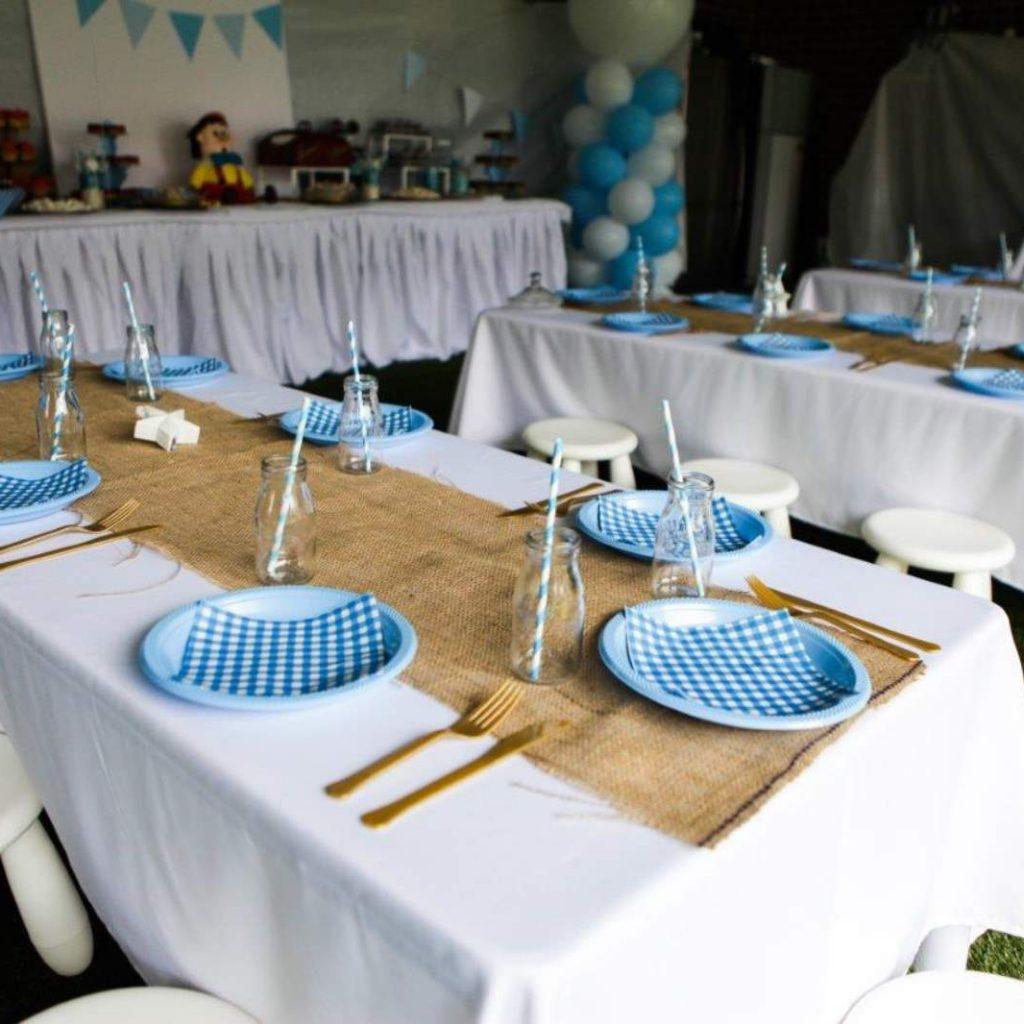Kids Party Table Setup