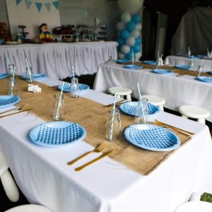 Kids Party Table Setup