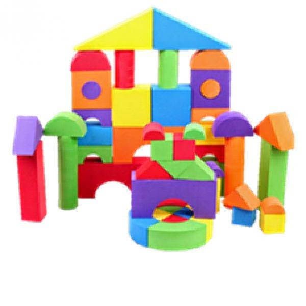 Large Soft Block Play Set