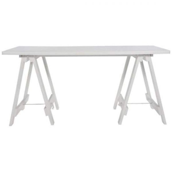 White Timber Table