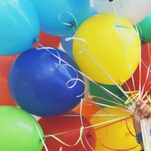 Balloon on Strings