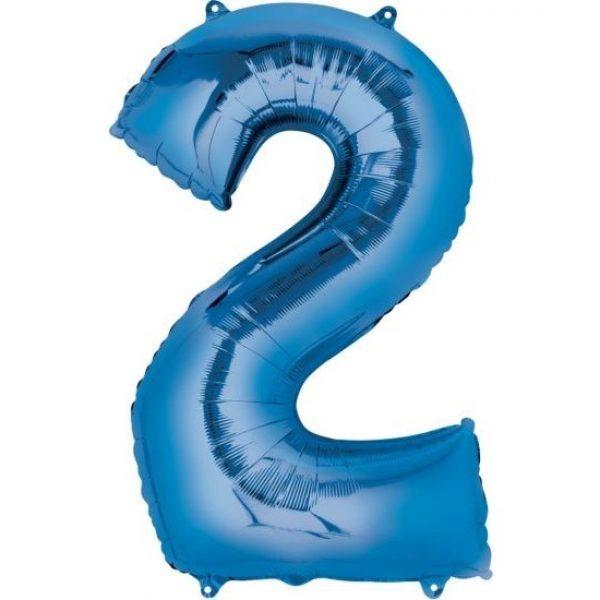 Blue 2 Balloon