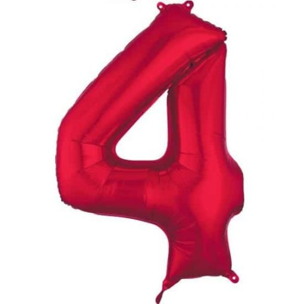 Red 4 Balloon