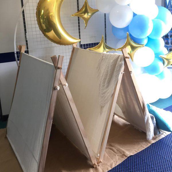 Teepees with Moon Balloon