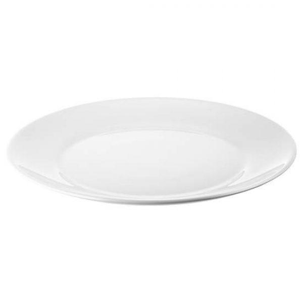 Children's White Serving Plate