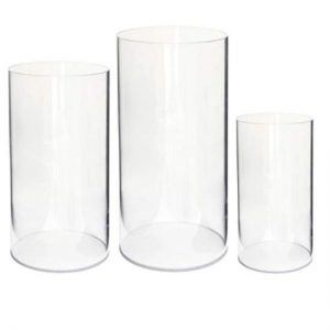 Clear Plinth Trio