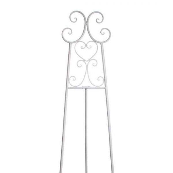 White Easel Detail