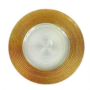 Gold Serving Plate