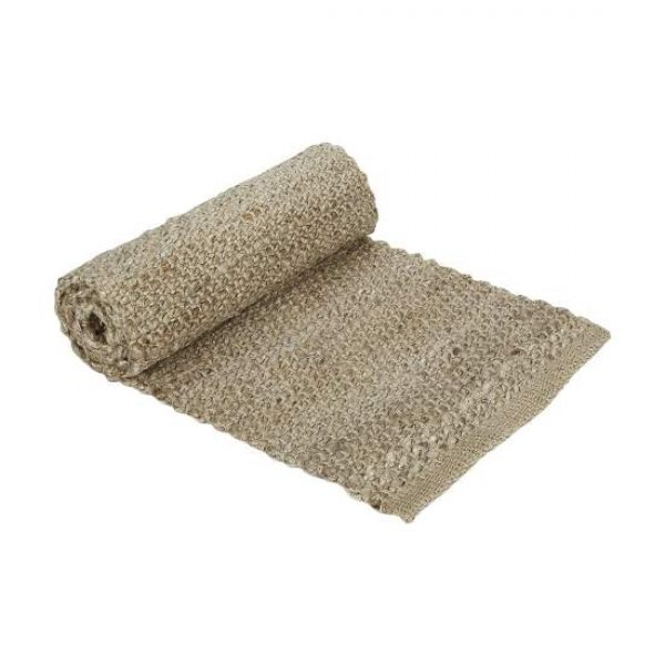 Jute Table Runner Rolled Up