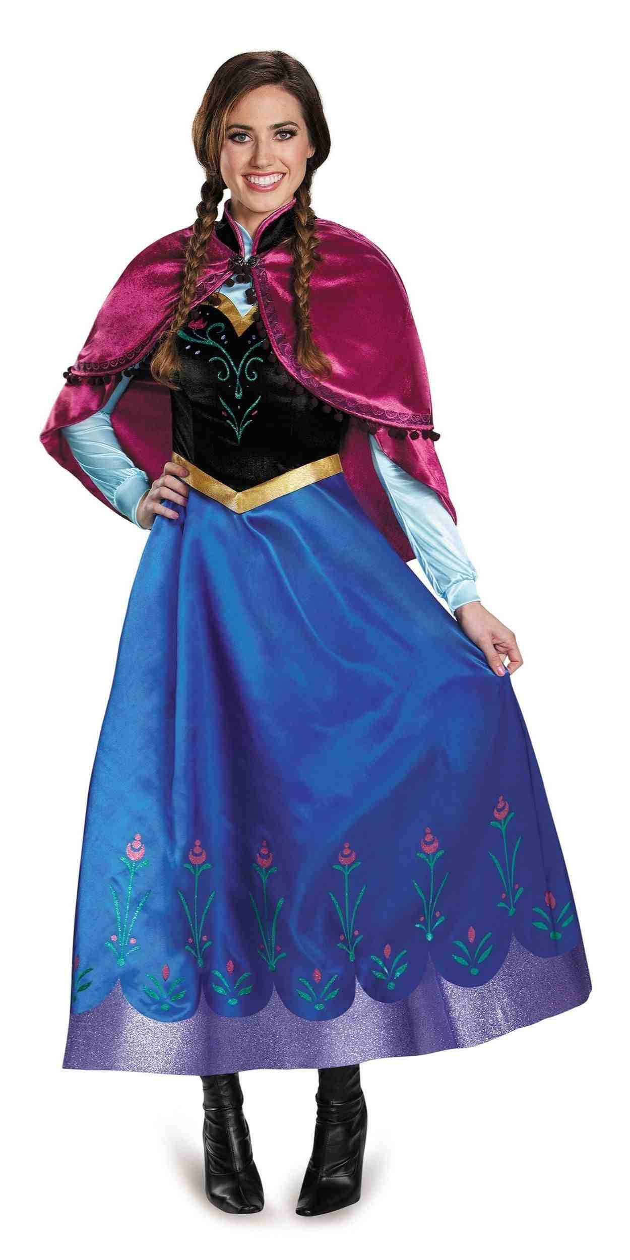 Woman in Anna Party Costume