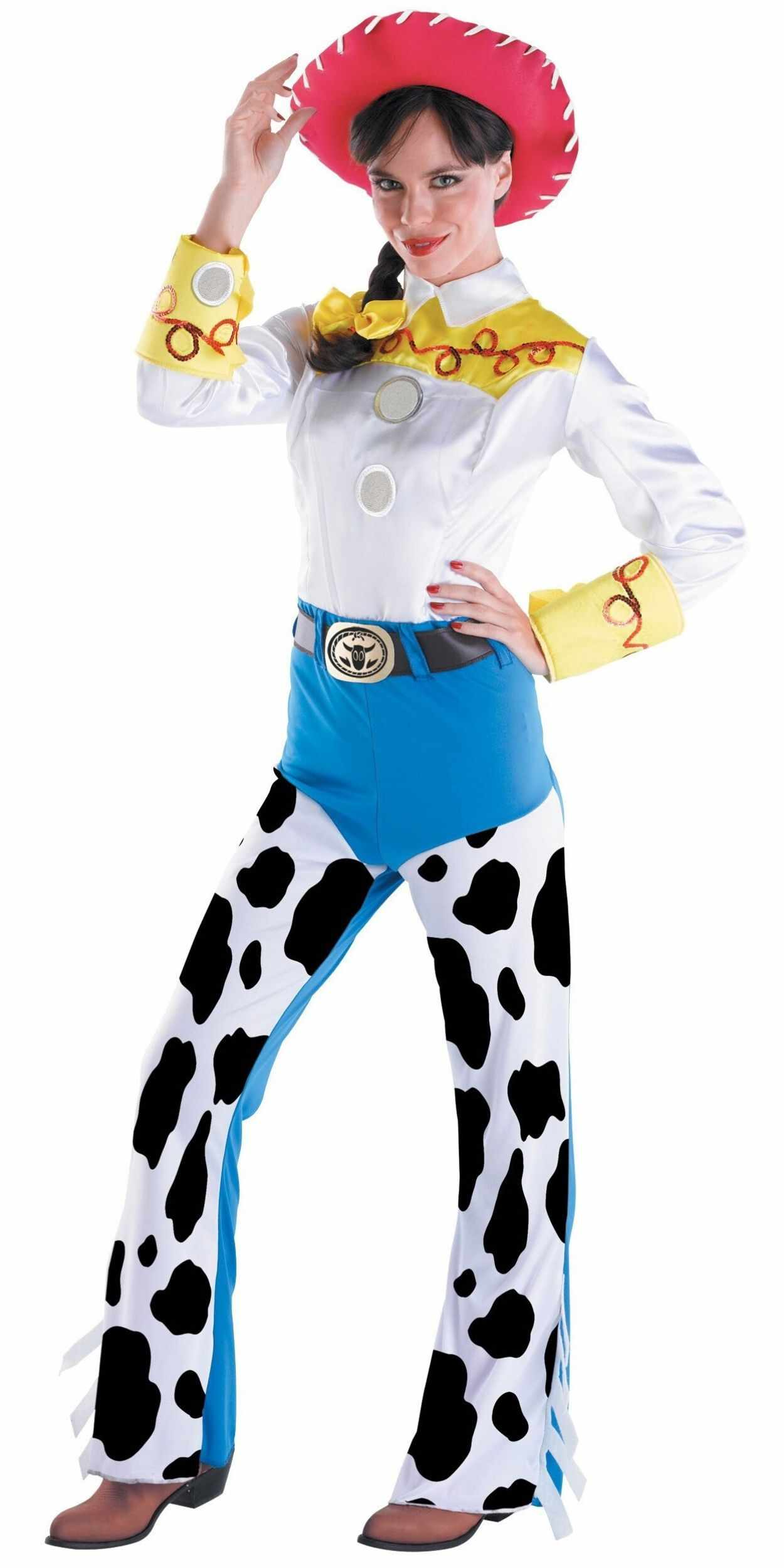 Woman in Jessie Party Costume