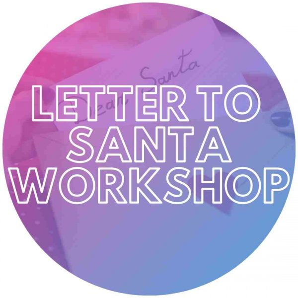 Letter to Santa at an event