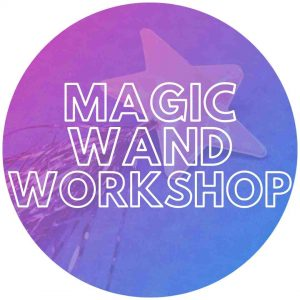 Magic wand craft for kids party