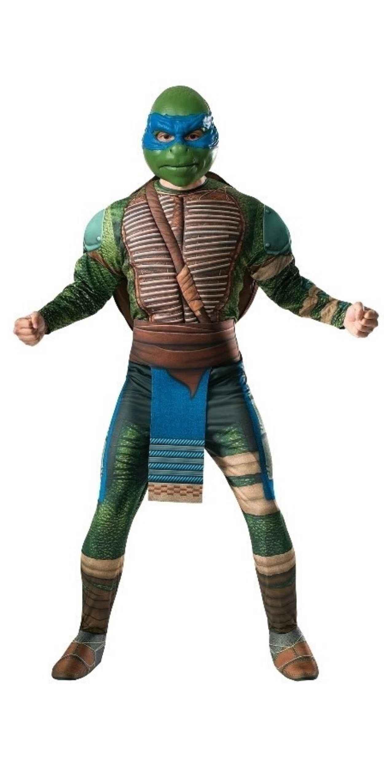 Man in Ninja Turtle Party Costume
