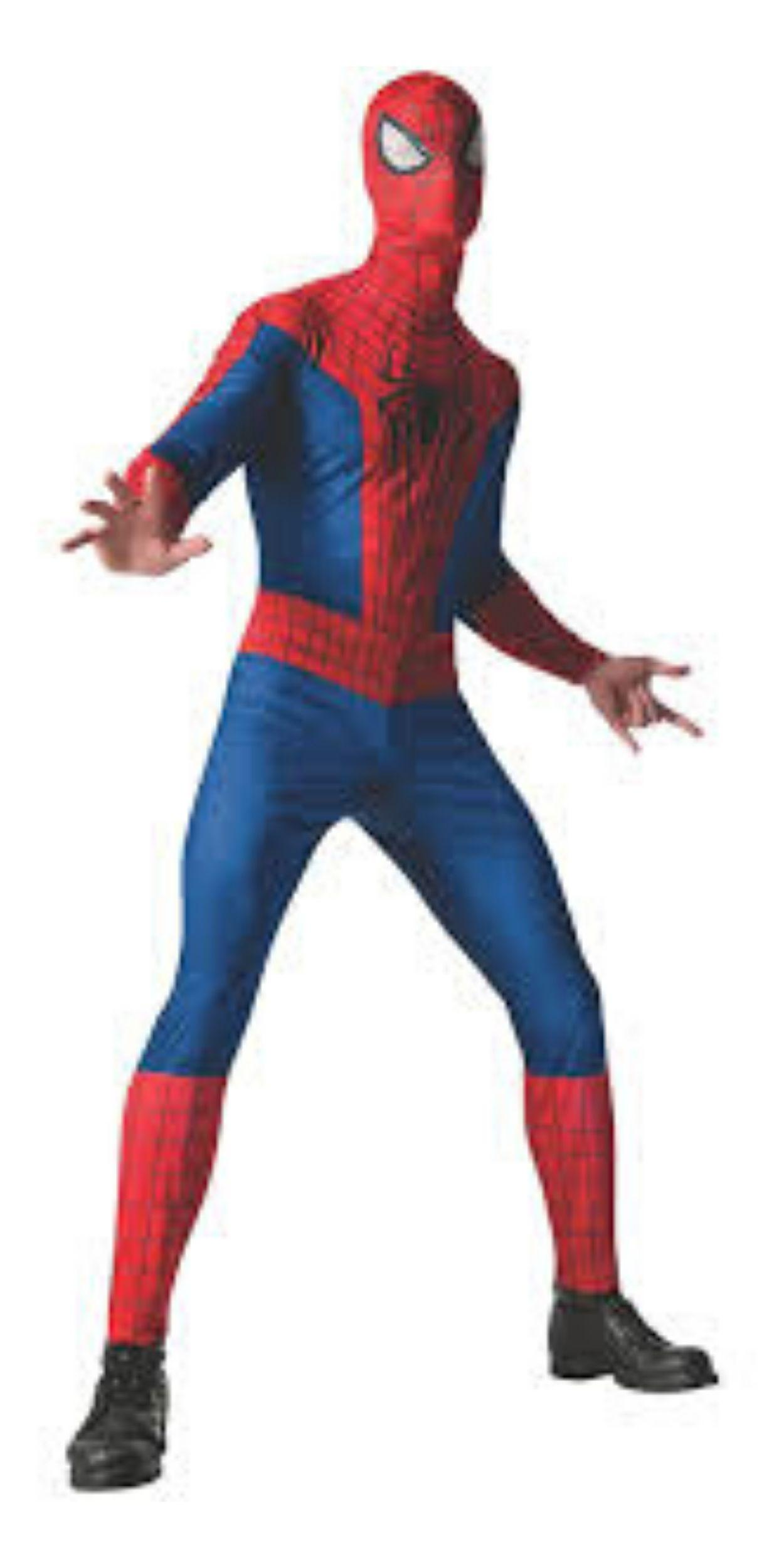 Man in Spider-Man Party Costume