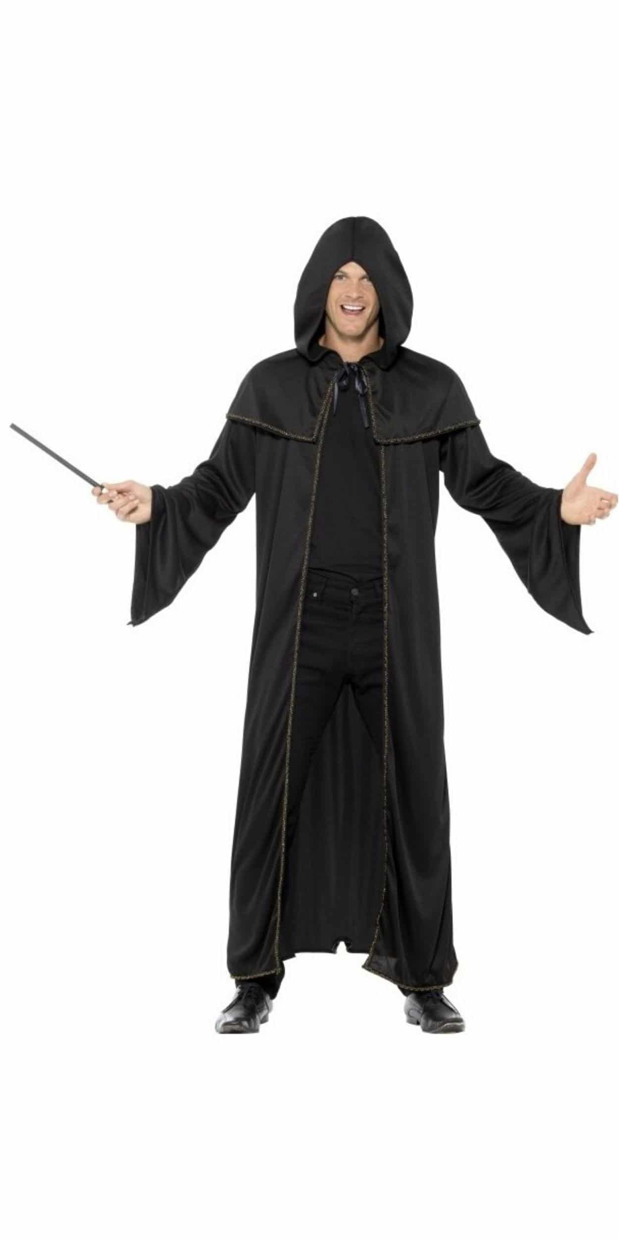 Man in Wizard Party Costume