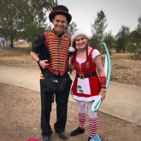 christmas balloon twisters
