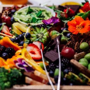 Fruit Platter for Healthy Party Food