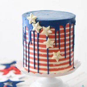Superhero Themed Party Cake
