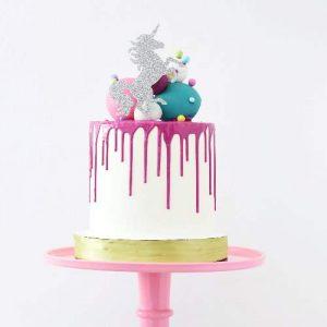 Unicorn Themed Party Cake