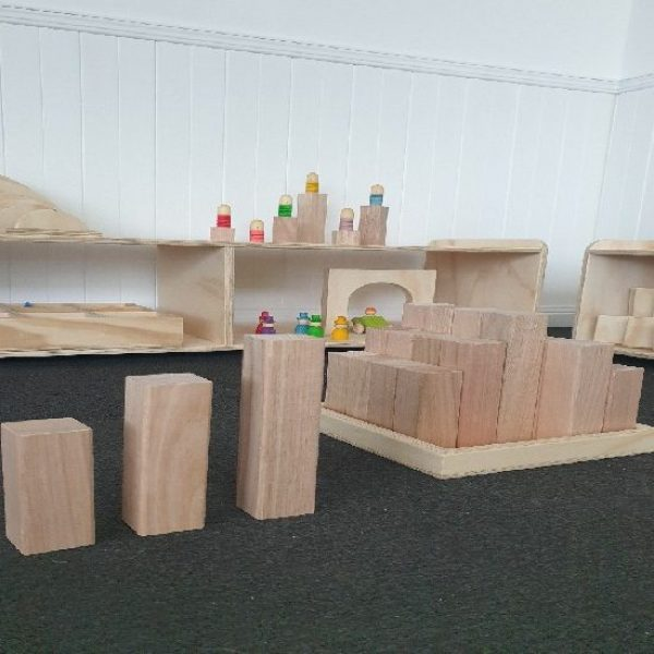 Large Wooden Block Set