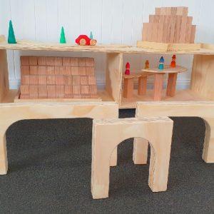 Wooden Archways Set