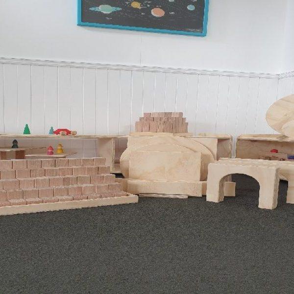 Wooden Building Blocks Set