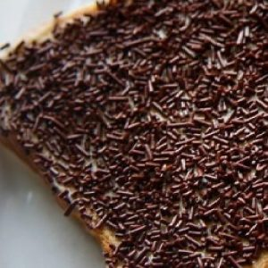 Chocolate Fairy Bread Ideas