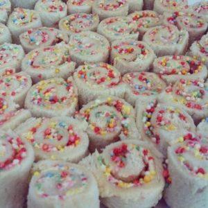 Roll Ups Fairy Bread Ideas