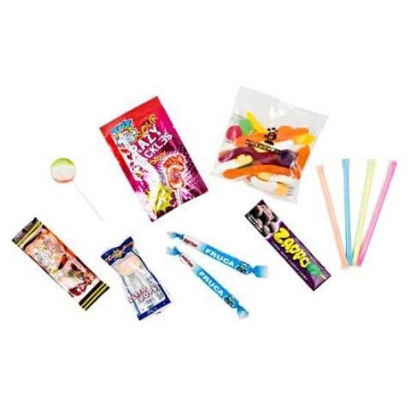 Lotsa Lollies Party Bag Contents