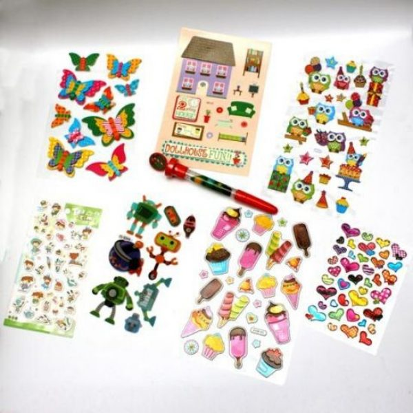 Stickers & Things Party Bag Contents