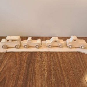 Wooden Vehicles Set