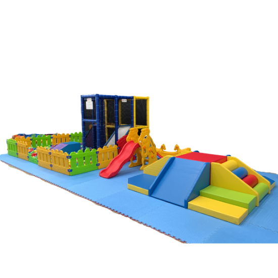 Deluxe Mobile Play Centre for Kids Party Hire