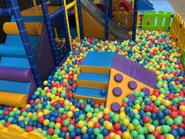 Mobile Play Centre with Ball Pit for Kids Party Hire