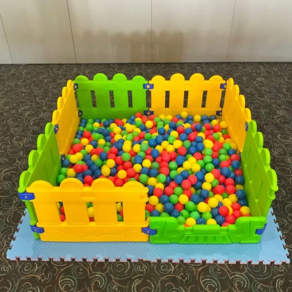 Ball Pit with Foam Mats Underneath for Kids Party Hire