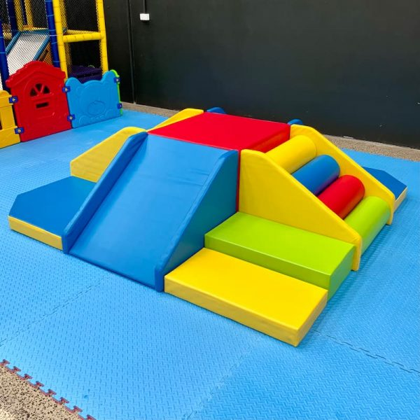 Lots of Fun Combo Soft Play Set Up for Kids Party Hire