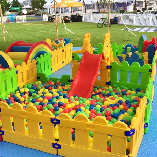 Ball Pit with Play Pen Combo for Kids Party Hire