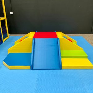 Lots of Fun Combo with Foam Mats Underneath for Kids Party Hire